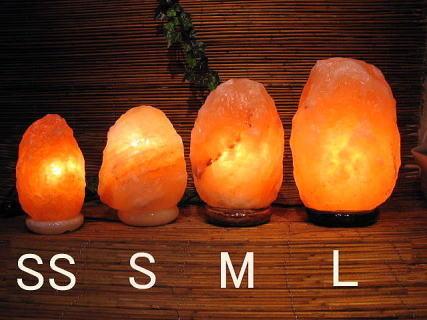 岩塩ランプ【ソルトランプ】天然岩塩鉱床の岩塩 エルシーエルジャパン